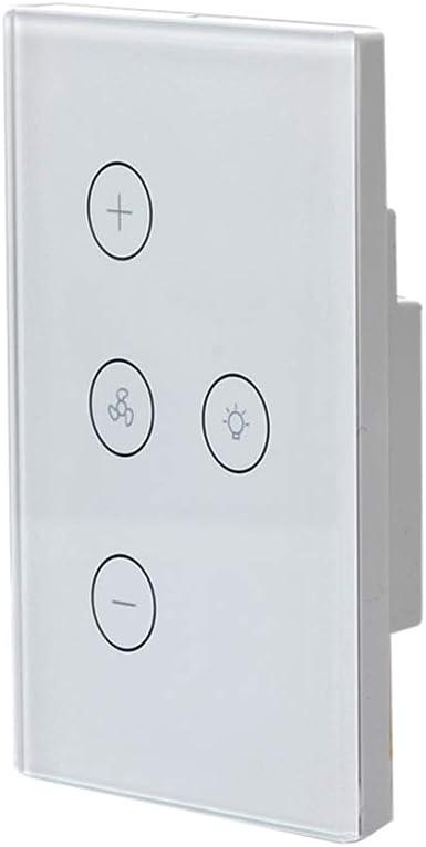 ULTECHNOVO Interruptor Táctil de Pared Luz Wifi Interruptor de ...