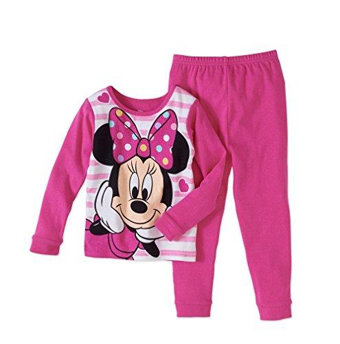 AME Minnie Mouse 2 Piece Sleepwear Set Pajama 2T (Set Piece Books 2)