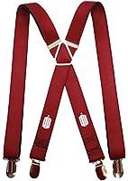 Doctor Who - Tardis Burgundy Suspenders Novelty 1 x 70in