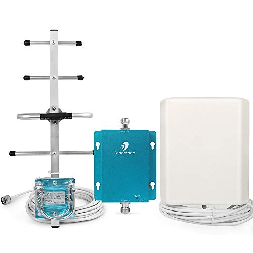 (Cell Phone Signal Booster Antenna for Home and Office - Boost Voice, Text and 3G Data - 62dB 850MHz 3G Repeater Antenna with Directional Antenna)