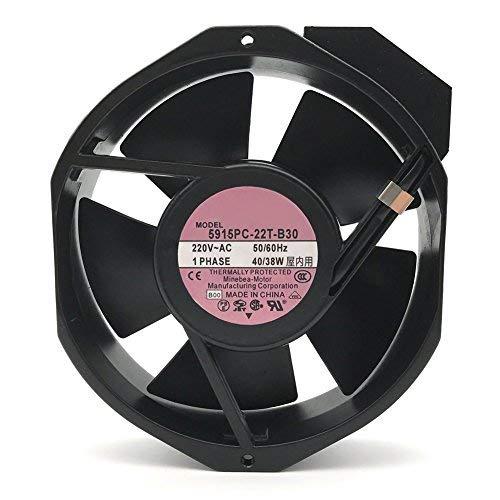 5915PC-22T-B30 50/60HZ 3200RPM AC 220V 40/38W 17238 bearing blower fan heat sink by ZEN