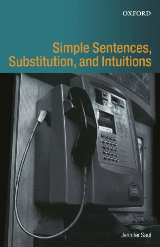 - Simple Sentences, Substitution, and Intuitions
