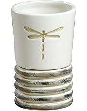 Creative Bath Products Dragonfly Collection, Tumbler, Multi/None