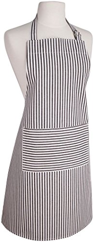 Now Designs Striped Apron (Now Designs Blk Stripe Apron)