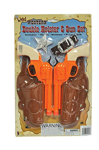 Double Holster & Gun Set Accessory