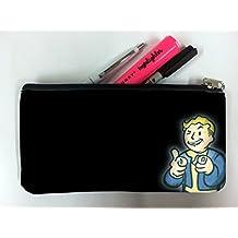 PipBoy Art Student Pen Pencil Case Coin Purse Pouch Cosemetic Makeup Bag