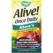 Amazon Com Nature S Way Alive Once Daily Men S