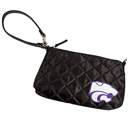 NCAA Kansas State Wildcats Quilted Wristlet