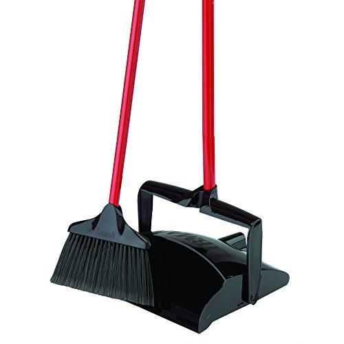 "Libman Commercial 919 Lobby Dust Pan and Broom Set , 41"" Len"