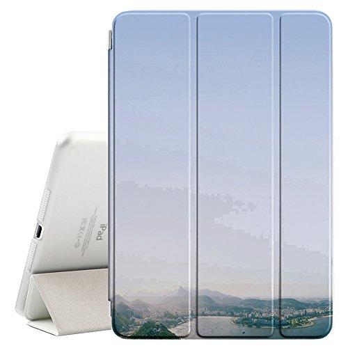 Graphic4You Rio De Janeiro Brazil Postcard Design Ultra Slim Case Smart Cover Stand [with Sleep / Wake Function] for Apple iPad Mini 1 / 2 / 3 ()