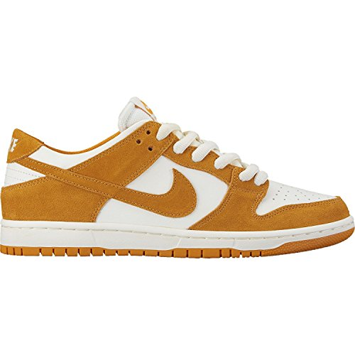 Nike Men's Sb Zoom Dunk Low Pro Circuit Orange/White Skate Shoe (10.0)