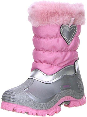 Spirale Kinder Mädchen Winterstiefel Snowboots rosa, Größe:31;Farbe:Rosa