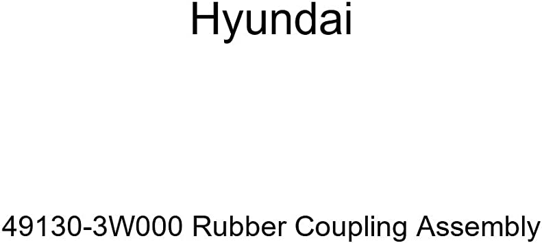 Genuine Hyundai 49130-3W000 Rubber Coupling Assembly