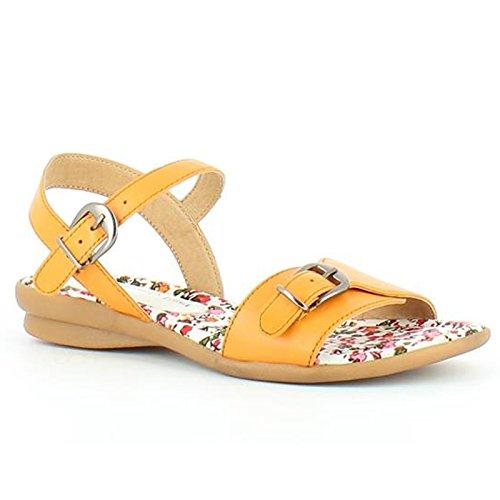 Heavenly Feet - Sandalias de vestir para mujer naranja