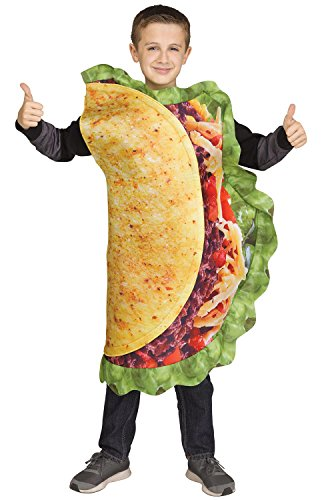 Fun World Taco Costume, One Size, Multicolor ()