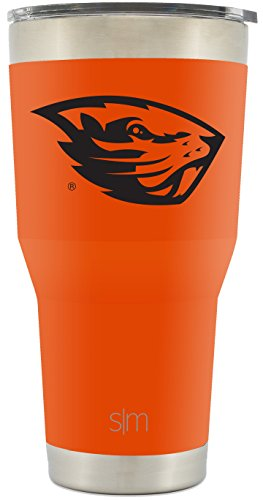 Simple Modern Oregon State University 30oz Cruiser Tumbler - Vacuum Insulated Stainless Steel Travel Mug - OSU Beavers Tailgating Hydro Cup College (Osu Oregon State University)