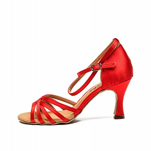 ballroom jazz shoes dance samba shoes sandals female dance modern