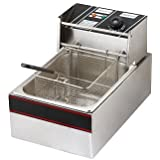 andrew james Deep Fryer 6 Liters Stainless Steel