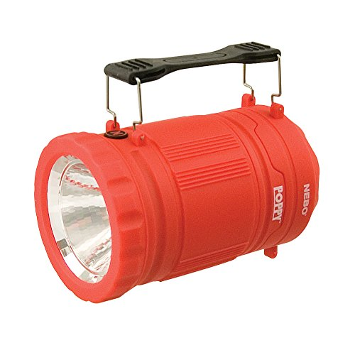 Poppy 300 Lumen Lantern and 120 Lumen Spot Light - Red