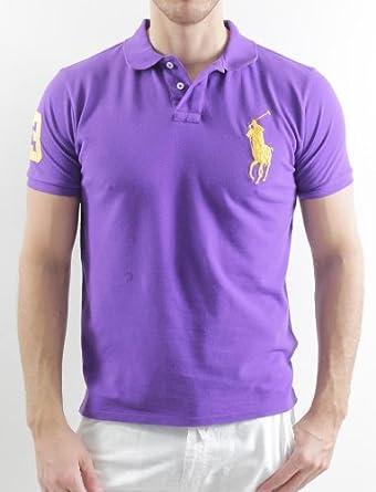 Ac5dc Get Hommes Lauren Shirt Ralph Jaune Violet D2e78 f6Yby7gv