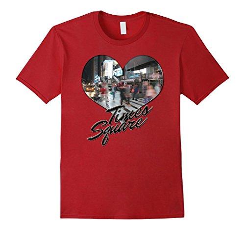 Mens NYC New York City Skyline Souvenir Times Square T-shirt Large - Square Times Souvenir Shops In