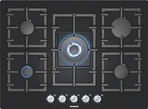 Siemens EP716QB91E hobs - Placa (Incorporado, Gas, Vidrio, 1m, 71 cm, 52 cm) Negro