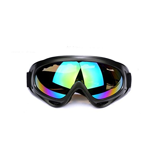 Outdoor Glasses Snowboard Ski Goggles Sunglasses Eyewear Adjustable UV Protective Portable Motorcycle Goggles Eyewear Dust-proof Protective Combat Goggles Play Games Protective - For Face Slim Sunglasses