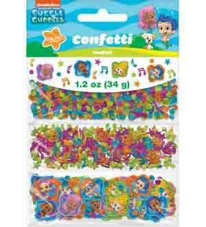 Bubble Guppies Confetti [Contains 4 Manufacturer Retail Unit(s) Per Amazon Combined Package Sales Unit] - SKU# 361425