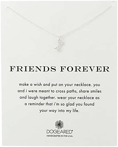 Dogeared Friends Forever Pendant Necklace