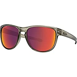 Oakley Mens Sliver R Polarized Sunglasses, Matte Grey Inktorch Iridium, One Size