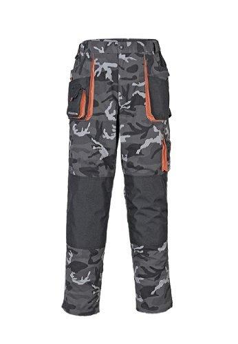 Terratrend Job 3230-58-6210Größe 58Herren 's-trousers-Camouflage/grau/schwarz