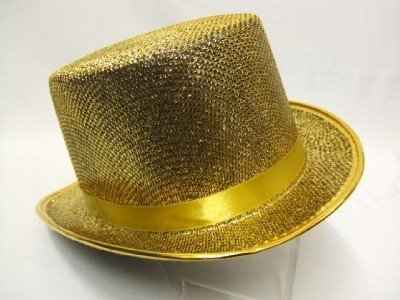 Top Hat ~ Gold ~ Cabaret ~ Moulin Rouge ~ Dance ~ Showgirl by Widdmann by Marlowe Costumes