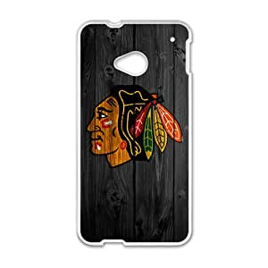 The Chicago Blackhawks Cell Phone Case for HTC One M7