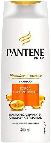 Shampoo Pantene Força e Reconstrução, 400ml