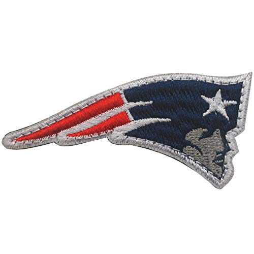 - New England Patriots Embroidered NFL Patch Hook and Loop Fasteners Backing Patches Badge Emblem Sign Applique Tactical Military Morale Patch 2.76