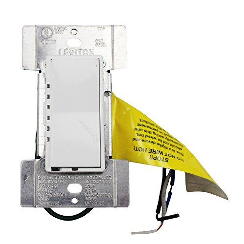 Leviton Decora Home Controls HXM06-1TW 1 Pole Dimmer Switch, White