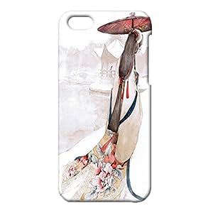 Iphone 5c Case,Wonderful Retro Ancient Art Series Custom Nice 3D Hard Phone Case for Iphone 5c