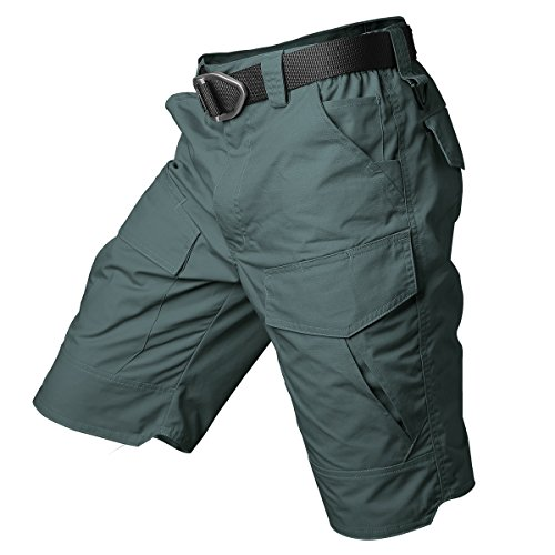 ReFire Gear Men's Urban Tactical Military EDC Cargo Shorts Rip Stop Cotton Outdoor Camo Shorts