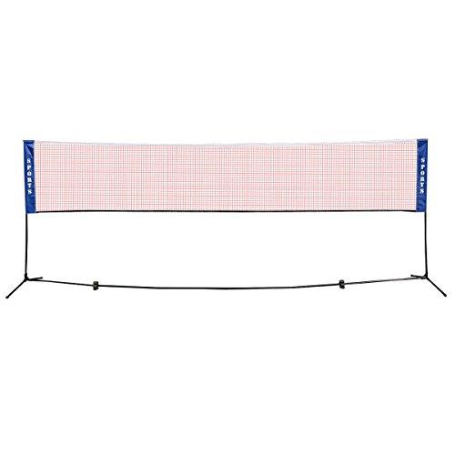 Goplus Portable Badminton Net Be...