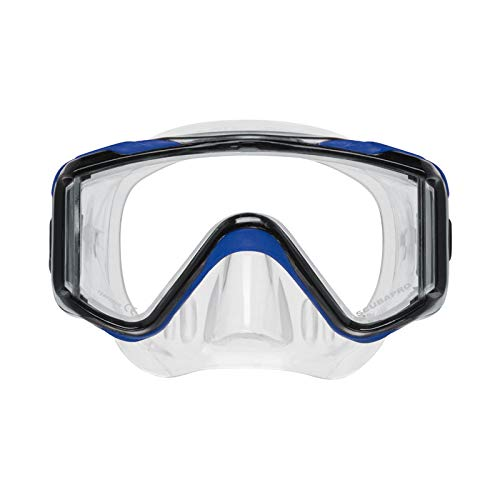 ScubaPro Crystal VU Plus Mask - Blue / Grey