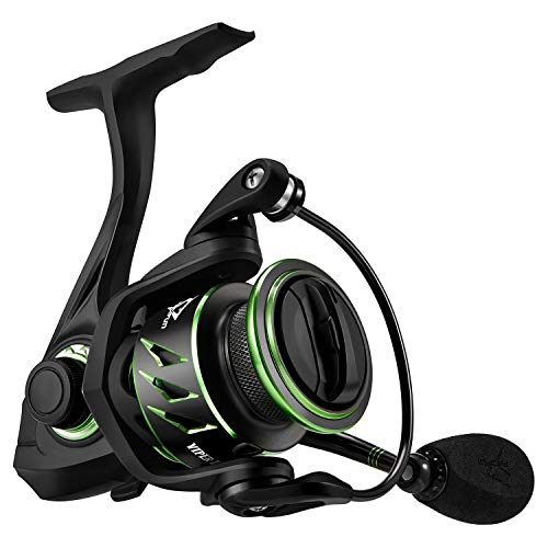 Green Water Series Saltwater (Piscifun Viper II Spinning Reel - 6.2:1 High Speed Fishing Reel, 10+1BB, Lightweight Ultra Smooth Tournament Spin Reels(2000 Series))