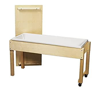 Childcraft 003400 Sand And Water Table With Cover, 6 Inches Deep 24 75  Inches Height