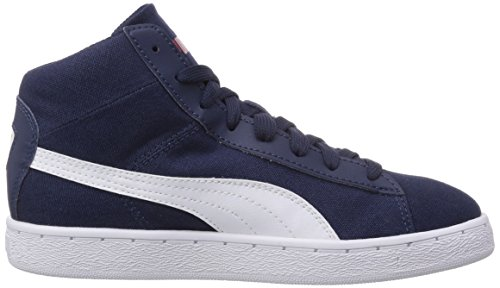 white Baskets Blau Mid 48 02 hautes Puma Bleu Cv Peacoat mixte adulte wp4gvx