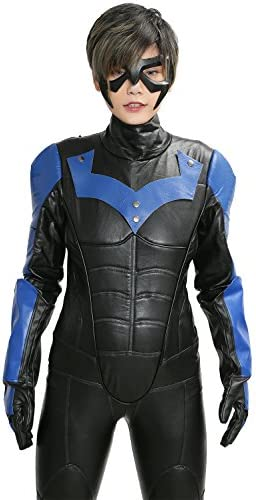 Amazon.com: Xcoser Nightwing disfraz traje trajes para ...