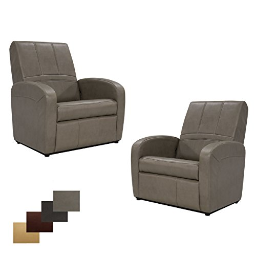 2 RecPro Charles RV Gaming Chair Ottoman w/ Storage Putty Review