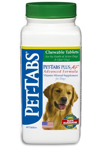 Pet-Tabs Plus AF (Advanced Formula), 60 ct.  (Made in USA), My Pet Supplies