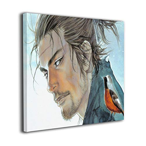Baohuju Miyamoto Musashi.There is Nothing Outside of Yourself Modern Oil Painting for Wall Decor Gallery Wrapped Giclee Wall Art On Canvas Ready to Hang 12