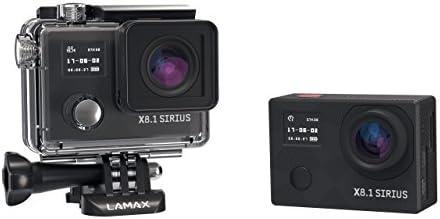 Lamax X8 1 Sirius Action Kamera Full Hd 1080p Schwarz Kamera