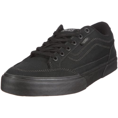 Vans Bearcat Canvas Black/Black Men's Classic Skate Shoes Si