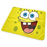 CFECUP Baby Changing Pad Sponge bob Square Pants Soft and Absorbent Urine Pads